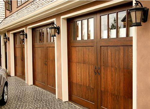 Style of  garage door options example. Chandler Semper Fidelis Garage Doors