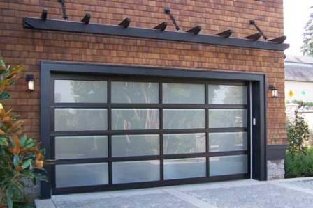 Modern Frosted Garage Door Semper Fidelis Garage Doors
